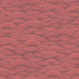 Waves seamless pattern Royalty Free Stock Photography