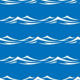 Waves seamless Royalty Free Stock Image
