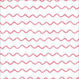 Waves seamless pattern Royalty Free Stock Photos