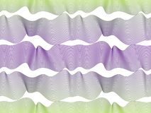 Waves seamless pattern, vector water runny curve lines abstract Stock Photos