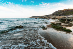 Waves on seashore Royalty Free Stock Photo