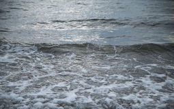 Waves at the seashore. Stock Images