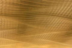 Waves Shape of Ceiling Pattern Stock Images