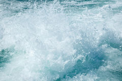 Waves from the ship Royalty Free Stock Image