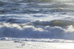 Waves at shore Royalty Free Stock Image