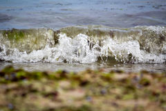 Waves on shore Royalty Free Stock Photography