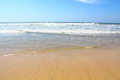 Waves on the shore of the Indian Ocean, Bentota Royalty Free Stock Photography
