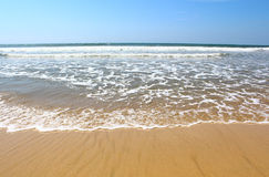 Waves on the shore of the Indian Ocean, Koggala, Sri Lanka Stock Image