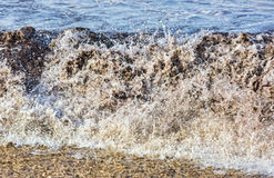 Waves on the Shore Royalty Free Stock Photography