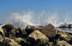 Waves show Royalty Free Stock Images