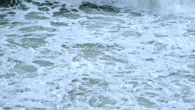 Waves slow motion stock footage
