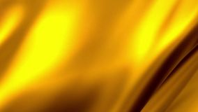 Waves smooth gold abstract stock illustration