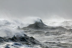 Waves and Spindrift Stock Photography