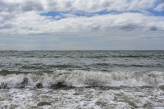 Waves after a storm. Royalty Free Stock Photography