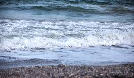 Waves of the stormy sea Stock Images