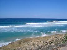 Waves at Stradbroke Island stock photos