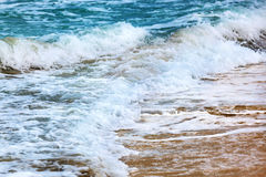 Waves on a sunny day Stock Photography