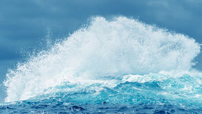 Waves on the surface of the ocean Stock Images