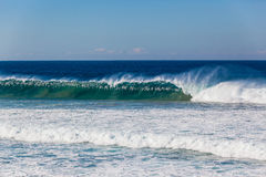 Wave Wall Spray Color Power Royalty Free Stock Image