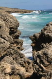 Rocky Waves royalty free stock image