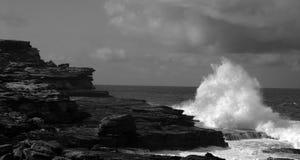 Waves. Taken in Sydney's Eastern Suburbs Stock Image