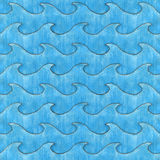Waves Texture Royalty Free Stock Photography