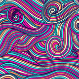 Waves texture, wavy background. Royalty Free Stock Image