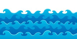 Waves theme image 5 Royalty Free Stock Image