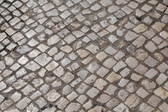 Waves of tiled floor Stock Images