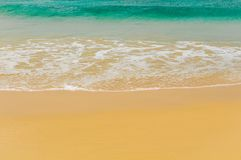 Waves of a tropical sea Royalty Free Stock Images