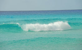 Waves in tropical setting Stock Images