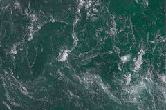 Waves view from above Stock Photo