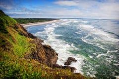 Waves on the Washington Coast Royalty Free Stock Photo