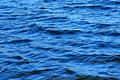Waves on water. Natural background Stock Photo