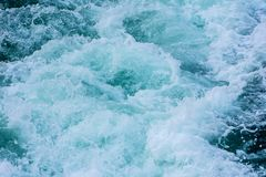 The waves of the water on the sea surface Stock Photography