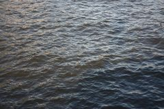 Waves on the water surface royalty free stock photos