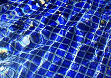 Waves in the Wishing Pool Stock Photos
