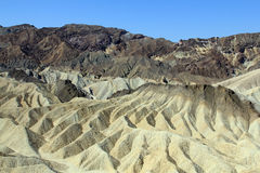 Waves of Zabriskie Point Stock Image