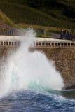 Waves in Zumaia Stock Photo