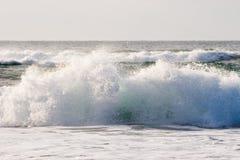 Waves2 causando um crash Foto de Stock Royalty Free