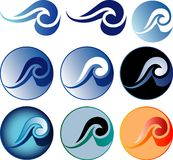 Wavesuno Fotos de Stock