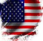 Waving american flag Royalty Free Stock Photo