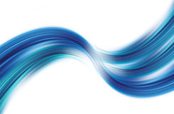 Waving Blue Curves  Royalty Free Stock Photos