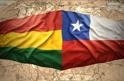 Bolivia and Chile Royalty Free Stock Photos
