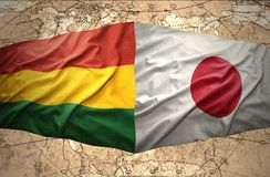 Bolivia and Japan Royalty Free Stock Photos