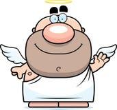 Waving Cartoon Angel Royalty Free Stock Image