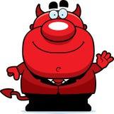 Waving Cartoon Devil Stock Photos