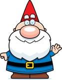 Waving Cartoon Gnome Stock Photos