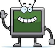 Waving Computer Monitor Stock Images