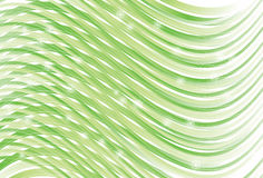 Waving Curve green line background. Sparkles, top curves, back curves, thin lines and background are on separate layers. Lines are cropped to art board. Simple royalty free illustration